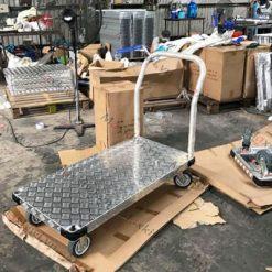 Xe đẩy hàng sàn nhôm tải trọng lên đến 1200 kg