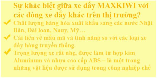 Điểm đặc biệt của Maxkiwi
